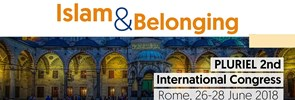 PLURIEL is organizings its 2nd International Congress in Rome, from 26 to 28 June 2018 under the theme Islam & Belonging.